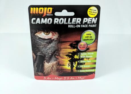 Camo Roller Blister Card